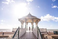 The Bandstand, Brighton (Zoë Power) Tags: blueskies sea bandstand beach brighton coast uk seaside