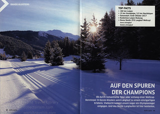 Graubünden, Die Langlauf-Perle der Schweiz; 2017_2, Switzerland