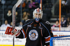 """Kansas City Mavericks vs. Ft. Wayne Komets, March 2, 2018, Silverstein Eye Centers Arena, Independence, Missouri.  Photo: © John Howe / Howe Creative Photography, all rights reserved 2018 • <a style=""""font-size:0.8em;"""" href=""""http://www.flickr.com/photos/134016632@N02/26768689328/"""" target=""""_blank"""">View on Flickr</a>"""