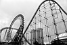 Tokyo Dome City (leopc.lin) Tags: fujfilm x100 28mm bw