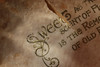 Torn (Patrick JC) Tags: macromondays imperfection antique greeting torn writing text