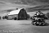 Fresh snow (Tony Reynes) Tags: barn snow bw illinois workshop