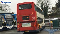 STAGECOACH EAST SCOTLAND VOLVO B7TL EAST LANCS VYKING SP05 FKJ AT CHELTENHAM RACES 12032018 (MATT WILLIS VIDEO PRODUCTIONS) Tags: stagecoach east scotland volvo b7tl lancs vyking sp05 fkj at cheltenham races 12032018