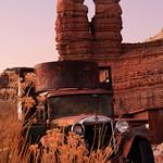 Old Truck at Twin Rocks thumbnail