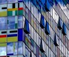 A puzzle of windows and colours (kanotpic) Tags: reflections architektur glass minimalismus lines art cooldesign düsseldorf colourful minimalism colours closeup spiegelung geometry geometrie architecture reflection urbanpatterns design fineartphotography