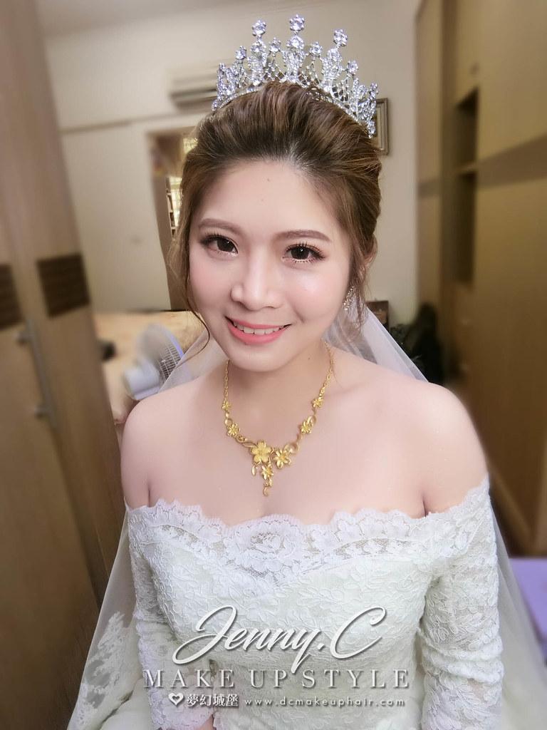 【新秘蓁妮】bride善蓁 結婚造型 / 二林文化教育園區