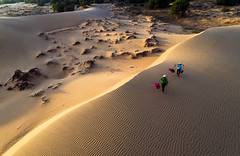 Carrying basket_Mui Ne_Sunset_DJI_0946 (PRADEEP RAJA K- https://www.pradeeprajaphotos.com/) Tags: sunset sky desert nature vietnam sand sun landscape sunrise scenic travel dune hot pattern background dry asia summer yellow texture shadow scenery natural ne indochina beautiful mui dust africa asian colorful cloud light wilderness footprint climate tourism scene blue sanddune drought textured ridge hill soil outdoor rock adventure wild idyllic