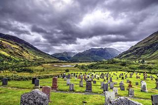 Kintail Burial Ground, Scotland