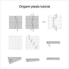 Pleat diagram tutorial (Mdanger217) Tags: origami diagram tutorial box pleating inkscape max danger