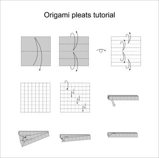 Pleat diagram tutorial