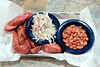 Martin's BBQ Joint (Richard Melton) Tags: bbq barbque nashville tennessee sausage beans