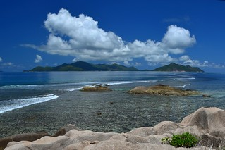 Clouds over Praslin