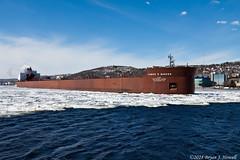 Mr. Barker (tubaman21) Tags: interlakesteamshipcompany interlake steamship company jamesrbarker james barker duluth minnesota