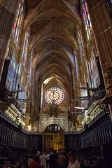 Organo / Organ (López Pablo) Tags: music organ cathedral church religion leon spain caminodesantiago wayofsaintjames nikon d7200 panorama