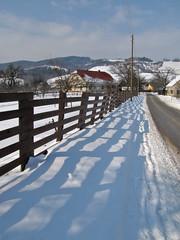 Igra senc / The shadow game (Damijan P.) Tags: zima winter sneg snow slovenija slovenia prosenak