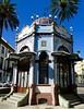las palmas 1900 (3) (canecrabe) Tags: kiosque café 1900 artnouveau parc santelmo faïence bleu