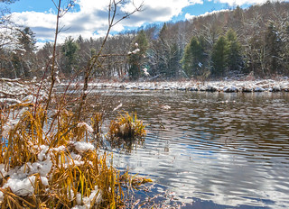 Ripples On White Lake Brook