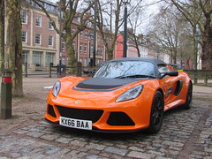 Lotus Exige Sport 350 KX66BAA (Andrew 2.8i) Tags: queen queens square bristol breakfast club show meet car cars classic classics british sports sportscar rmr roadster open cabriolet targa 350 sport exige lotus v6