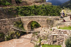 Two Very Old Bridges (SAM601601) Tags: cusco peru sam601601 checcacupe inca colonial
