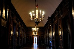 Portrait corridor (Pictures in my head) Tags: germany berlin country visit discover enjoy explore city trip with friends students history free time holiday break off castle charlotte sophie photography architecture portraits corridor light dark room