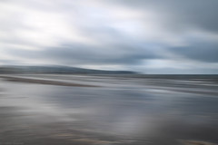Sea, Ayr IV (strachcall) Tags: refelections intentionalcameramovement blur beach scotland sky icm water clouds movement ayr landscape coast incameraeffects sea