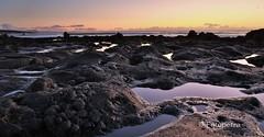El Golfo (petra.foto busy busy busy) Tags: elgolfo lanzarote lavastrand sonnenuntergang travel holiday strand atlantik lava fotopetra 5dmarkiii