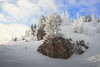 cold beauty (koaxial) Tags: p2257092p1m2a winter frost frozen cold low temperature weather wetter clouds wolken sky blue trees rocks felsen berge mountains landscape