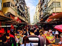 Busy Mongkok District - Hong Kong (JR Marquina) Tags: explore asia market street kowloon mongkok hongkong