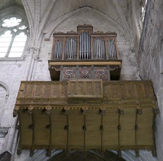 Où ai-je vu ce bel orgue? dans l'église Notre-Dame à Moret-sur-Loing en Seine-et-Marne