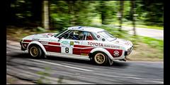 Toyota Celica GT 2000 Gr.4 (1975) (Laurent DUCHENE) Tags: vosgesrallyefestival rallye rally rallyevent rallycar motorsport historiccar car automobile automobiles 2017 toyota celica gt 2000 gr4