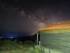 Milky Way (asamoal2) Tags: nature milkyway grass green trees stars universe house sky sea 1240prolens olympus1240 em10mk2 milky way galaxy astro astronomy background beautiful clouds constellation cosmos landscape light outdoor planet space star starry water