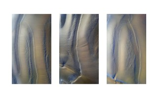 Reposing Sand Triptych