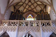 Mariä Himmelfahrt, Bad Königshofen (palladio1580) Tags: bayern franken unterfranken landkreisrhöngrabfeld badkönigshofen gotik kirche orgel organ orgue organo empore gewölbe