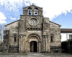 Iglesia románica de Santa María, Cambre (A Coruña) (Miguelanxo57) Tags: iglesia románico medieval cambre acoruña galicia nwn