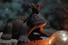 Der Froschkönig - Once Upon A Time - HMM (CHWVB) Tags: macromondays fairytale brunnen goldenekugel kugel thefrogking onceuponatime frosch froschkönig märchen krone crown mm monday