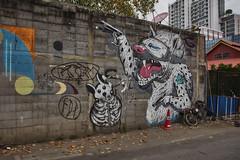 Graffiti (Thomas Mulchi) Tags: bangrakdistrict bangkok thailand 2018 krungthepmahanakhon th graffiti wallpainting