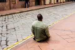 Loneliness (klauslang99) Tags: streetphotography klauslang person loneliness cuenca ecuador
