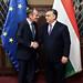 President Tusk meets Viktor Orban, Hungarian Prime Minister