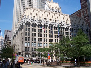 Pittsburgh Pennsylvania  ~ The Union Trust Building  ~ AKA  Union Arcade ~ Flemish ~ Gothic Architecture