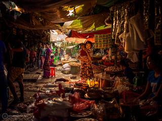 On assignment in Myanmar: Mingalodon Bazaar