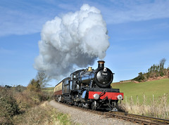 7822 Foxcote Manor (johncheckley) Tags: d90 uksteam loco railway train steam manor