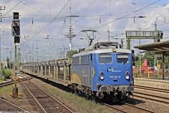 EVB 140 761 am 14.07.2015 mit einem leerem Autozug in Bremen Hbf (Eisenbahner101) Tags: