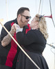 anniversary/vow renewal 8 (CE Photogenetix) Tags: review vowrenewal vow anniversary cermony love marriage bride groom mrandmrs rockabilly retro vintage nautical harbor venturaharbor ventura venturacounty canon80d christinaedwards couple boat deck portrait portraiture people
