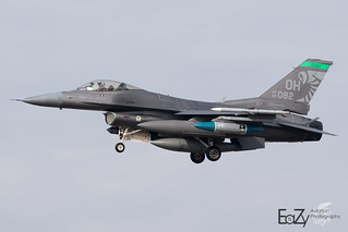 89-2082 United States Air Force General Dynamics F-16CM Fighting Falcon