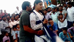 Drama Rehearsal Recording Dance in Front of Public (hot recording dance) Tags: hotrecordingdance hotvideos tamilrecorddancemay2018 teluguvideos