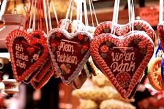 Heart Cookies (YY) Tags: germany würzburg christmasmarket food