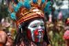 Art color of Papua New-Guinéa (michel David photography) Tags: cour face papua newguinéa singsing goroka show