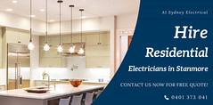 Hire Residential Electricians in Stanmore (a1sydneyelectrical) Tags: electrician sydney stanmore kitchenfitouts home