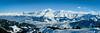 Panorama du la chaîne du Mont Blanc depuis le Christomet (La Pom ) Tags: savoir haute alpes neige hiver montagne combloux panorama mont blanc megève