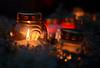 A Lonely Flame (henriksundholm.com) Tags: dof depthoffield night flame fire burn burning candle glass memorial bokeh light shadows vignette almhöjden skogskyrkogården enskede woodlandcemetery cemetery graveyard 50mm reflections stockholm sverige sweden